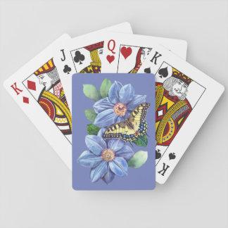 De Speelkaarten van de Vlinder van de waterverf