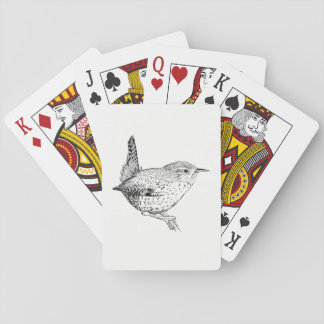 De Speelkaarten van de vogel - Winterkoninkje