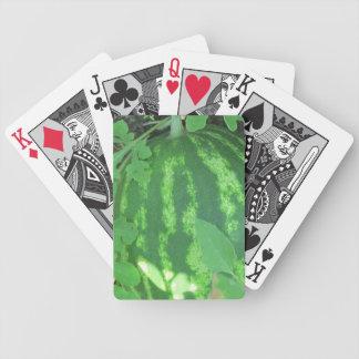 De Speelkaarten van de watermeloen Bicycle Speelkaarten