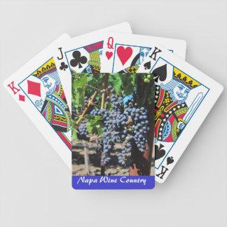 De Speelkaarten van de Wijngaard van het Land van Pak Kaarten