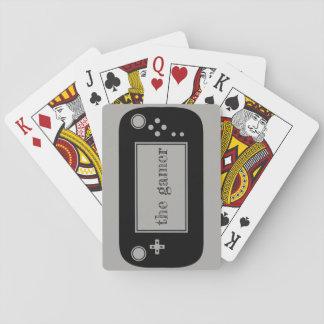 De speelkaarten van Gamer