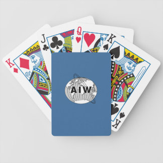 De Speelkaarten van het aiw- Logo Pak Kaarten