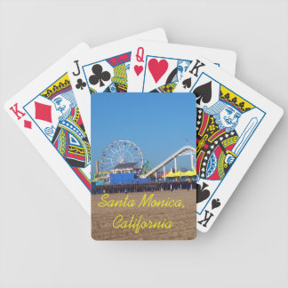 De Speelkaarten van het ferriswiel van Monica Beac Bicycle Speelkaarten