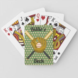 De Speelkaarten van het honkbal