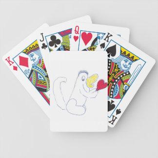De Speelkaarten van het Insect van de liefde Pak Kaarten
