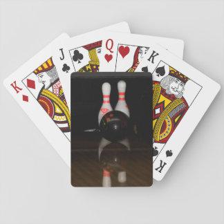 De Speelkaarten van het kegelen