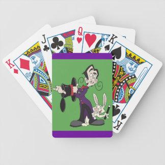 De Speelkaarten van het Konijn van de tovenaar Pak Kaarten