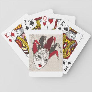 De Speelkaarten van het Masker van Gras Carnaval