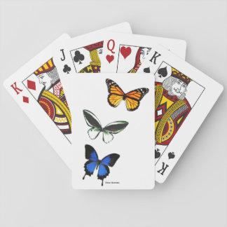 De Speelkaarten van het Patroon van de vlinder