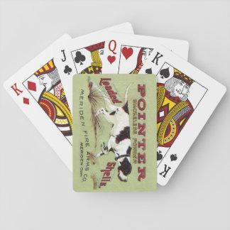 De Speelkaarten van het punt
