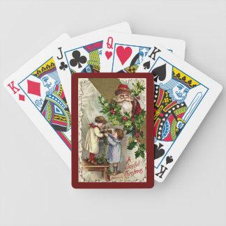 De Speelkaarten van Kerstmis Pak Kaarten