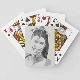 De speelkaarten van Mileena