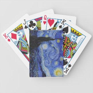 """De Speelkaarten van Vincent van Gogh van de """"Sterr Poker Kaarten"""