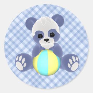 De speelse Sticker van de Jongen van het Baby van