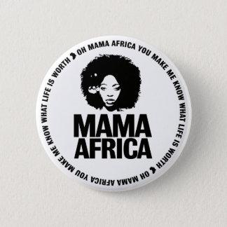 De Speld van Afrika van mamma's Ronde Button 5,7 Cm