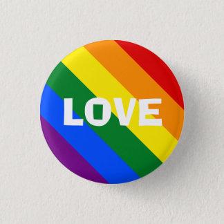 De Speld van de Liefde van de regenboog Ronde Button 3,2 Cm
