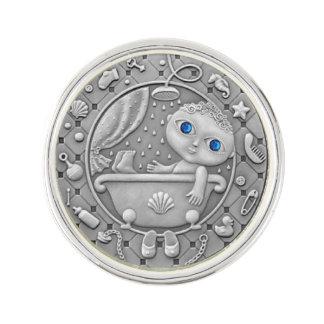 De Speld van de Revers van Waterman van Zodiak Reverspeld