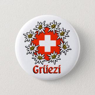 De Speld van Gruezi Ronde Button 5,7 Cm