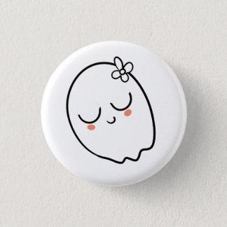 De speld van het spook ronde button 3,2 cm