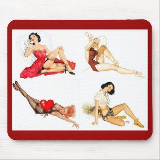 De Speld van Mousepad op Collage 4 van de Kunst Muismat