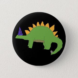 De speld van Stegosaurus van de tovenaar Ronde Button 5,7 Cm