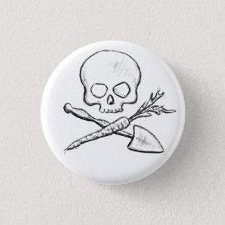 De Spelden van de Tuinman van de piraat Ronde Button 3,2 Cm