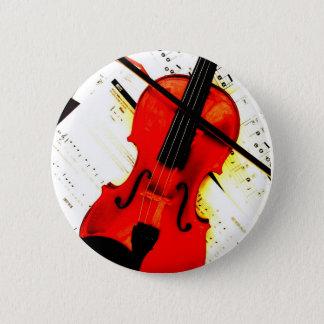 De speldknoop van de viool ronde button 5,7 cm