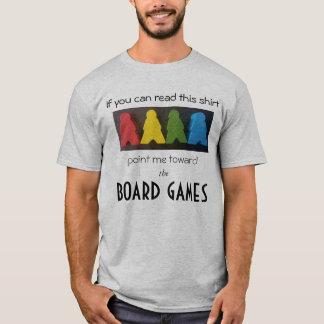 De Spelen van de raad en T-shirt Meeples