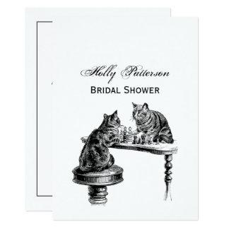 De Spelen van de raad: Twee Katten die een Gelijke Kaart