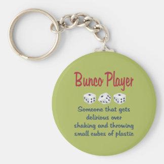 De Speler van Bunco - Definitie Sleutelhanger