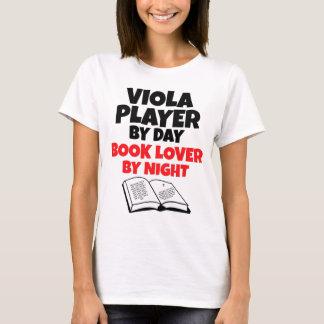De Speler van de altviool door 's nachts de T Shirt