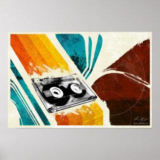 De Speler van de cassette Poster