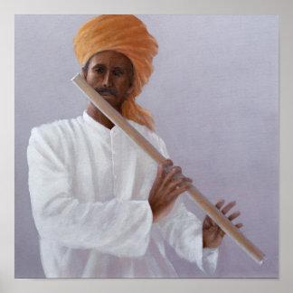 De Speler van de fluit Poster