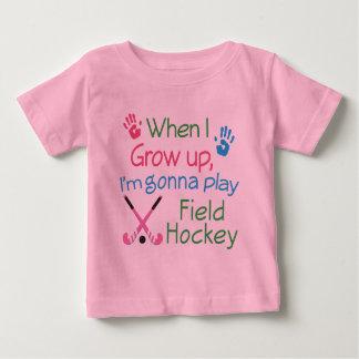 De Speler van het hockey (Toekomst) Baby T Shirts