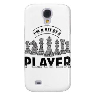 De Speler van het schaak Galaxy S4 Hoesje