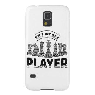 De Speler van het schaak Galaxy S5 Hoesje