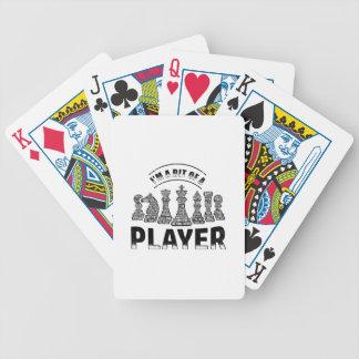 De Speler van het schaak Pak Kaarten