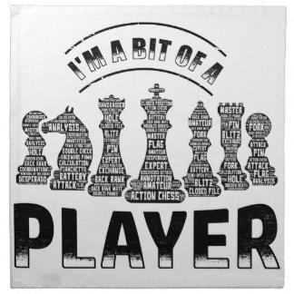 De Speler van het schaak Servet