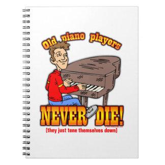 De Spelers van de piano Notitie Boeken