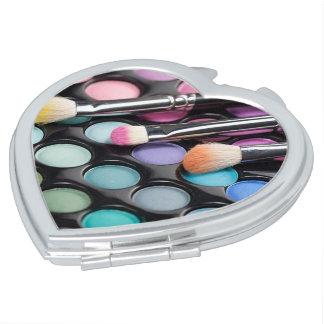 De Spiegel van de Liefde van de make-up Reisspiegeltjes