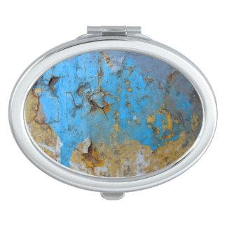 De spiegel van de structuur reisspiegeltje