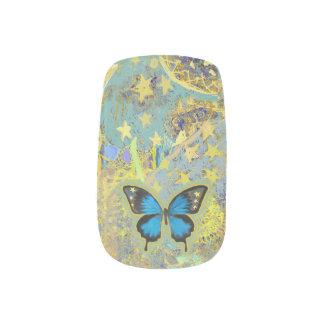 De Spijkers van de Droom van de vlinder Minx Nail Folie