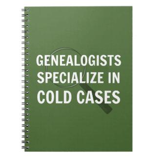 De Spiraal van de genealogie - verbindend (Groen) Notitieboek