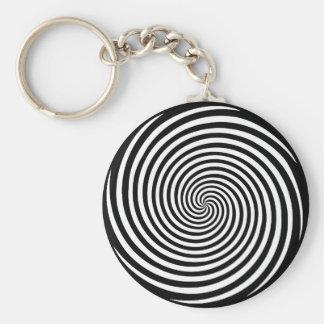 De Spiraal van de hypnose Sleutelhanger