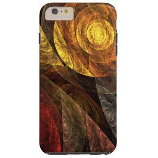 De spiraal van het Abstracte Art. van het Leven Tough iPhone 6 Plus Hoesje