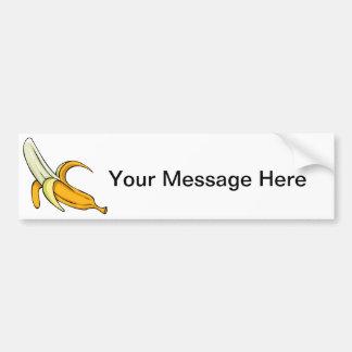 De Spleet van de banaan Bumpersticker