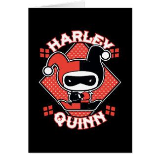 De Spleten van Harley Quinn van Chibi Briefkaarten 0