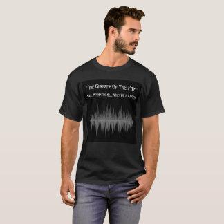 De spoken van de Afgelopen T-shirt van het Mannen