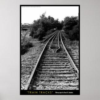 De Sporen van de trein Poster