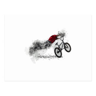 De Sport BMX van de fiets Briefkaart